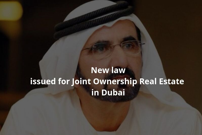 New law issued for Joint Ownership Real Estate