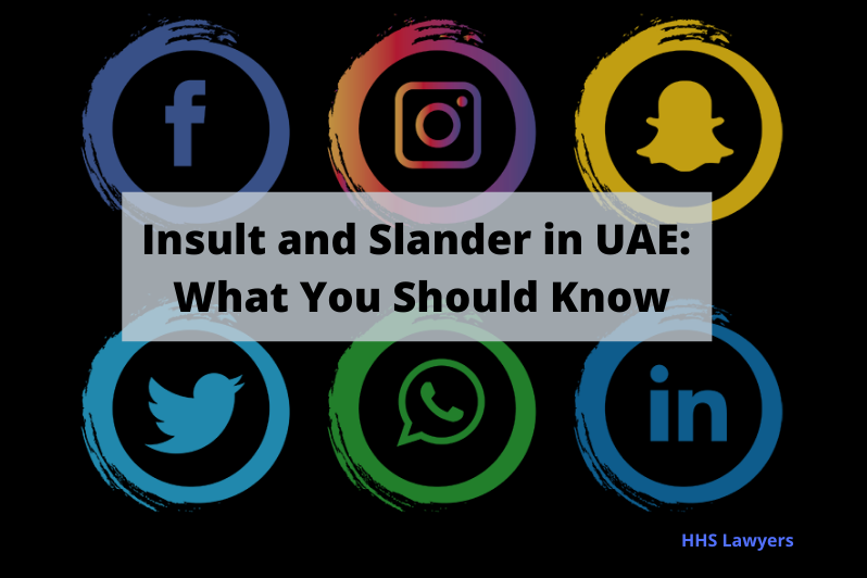 insult and slander law in uae